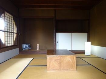 191026松阪あるき42、原田二郎旧宅(2階8畳).JPG