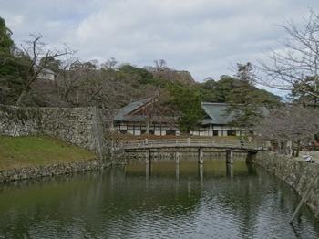 200104彦根城博物館01、表門橋.JPG