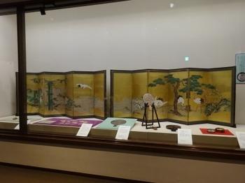 200104彦根城博物館13、蓬莱図(狩野英信).JPG