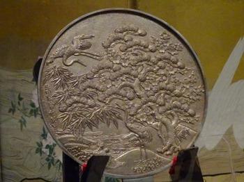 200104彦根城博物館14、蓬莱文柄鏡.JPG