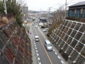 200214常滑やきもの散歩道08、一木橋から瀬木方面を見る.JPG