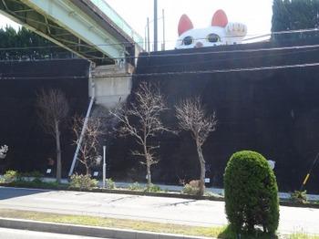 200309とこなめあるき03、「とこにゃん」と北山橋.JPG