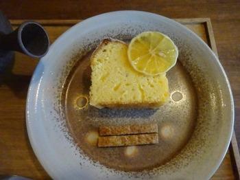 200309TSUNEZUNE常々16、レモンのパウンドケーキ.JPG