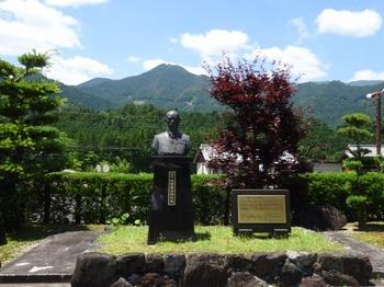 200623茶山調査05「大谷嘉兵衛」09、茶王大谷嘉兵衛胸像.JPG