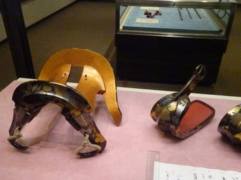 200830彦根城博物館10、拝領の馬具.JPG