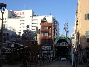 s_190103ぎふ歩き03、劇場通商店街と岐阜タカシマヤ.JPG