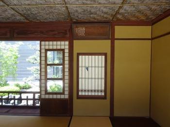 s_190726奥の細道むすびの地記念館08、無何有荘大醒榭(額「大醒榭」).JPG